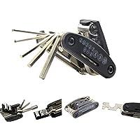 Nihao® Motocicleta Herramientas De Reparación Llave Allen Multi llave hexagonal (Destornillador de viaje para Honda