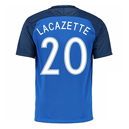2016-17 France Home Shirt (Lacazette 20) B077VJXZV4Blue XL 46-48\