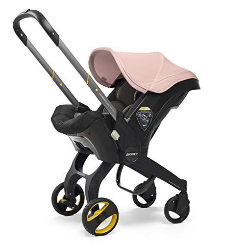 41aFby7wi7L - Doona Infant Car Seat & Latch Base – Car Seat To Stroller – Blush Pink – US Version
