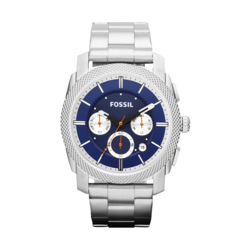 Fossil Machine Chronograph Stainless Steel Watch Fs4791