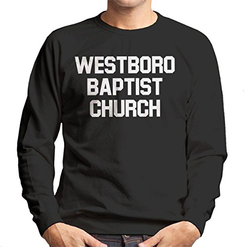 Louis Theroux Westboro Baptist Church Men's Sweatshirt by Coto7