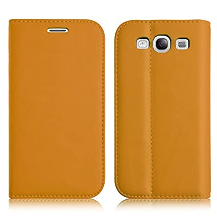 Amazon.com: Galaxy S3 Case - Leather Swiss Wallet Flip Cover ...