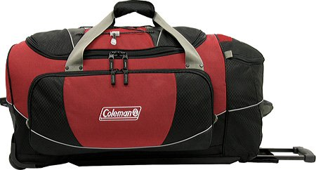Golden Pacific 62983R 30 in. Coleman Excursion II Rolling – Red, Bags Central