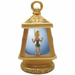 45mm Tinker Bell Pixie in Golden Lantern Shaped Water Globe