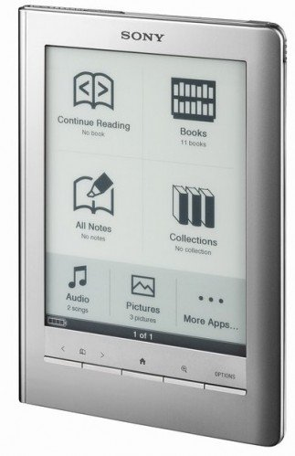 Sony PRS-600SC Touch Edition E-Book Reader by Sony