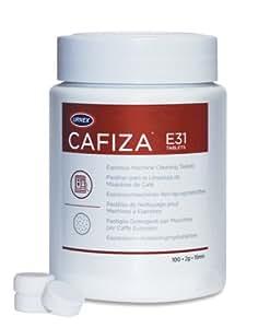 Urnex Cafiza - Pastillas limpiadoras para cafeteras italianas (100 unidades)
