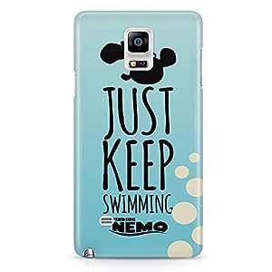 Loud Universe Blue Finding Nemo Quote Samsung Note 5 Case Finding Nemo Design Samsung Note 5 Cover with 3d Wrap around Edges