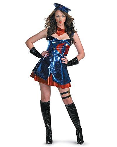 Womens GI Joe Costume Sexy Toy Costume Cobra Costume Sizes: (Female Gi Joe Costume)