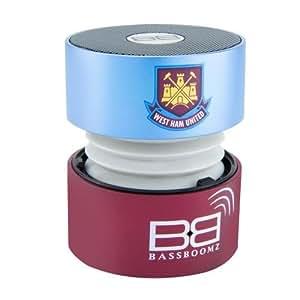 Bassboomz West Ham - Altavoz portátil Bluetooth