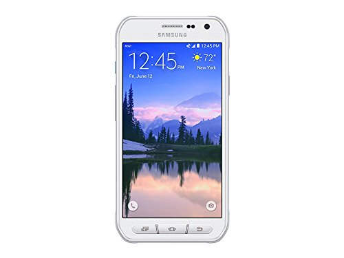 Samsung Galaxy S6 Active G890A 32GB Unlocked GSM 4G LTE Octa-Core Smartphone w/ 16MP Camera - White by Samsung