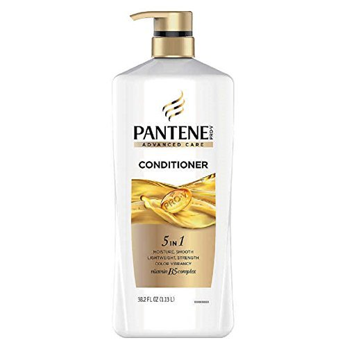 Pantene Pro-V Advanced Care Conditioner, 38.2 oz, for all hair types, PUMP BOTTLE by Pantene