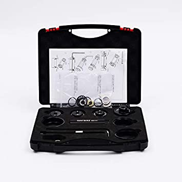 Soporte inferior para bicicleta, herramientas de instalación y extracción, kit de instalación de rodamiento de eje BB, BB30 BB86 Herramientas de extracción de rodamientos/Herramientas de reparación