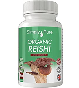 Organic reishi 90x capsules 100 natural soil association for Organic soil uk