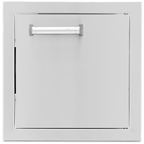 BBQGuys.com Sonoma Series 12-inch Stainless Steel Single Access - Door Hinge Single Access