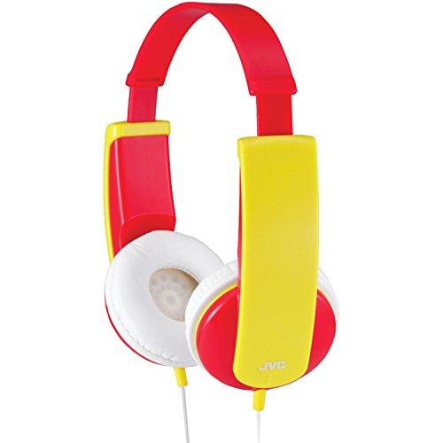 JVC HAKD6R Kidsphone Headphones (Red) Jvc Red Lightweight Headphone