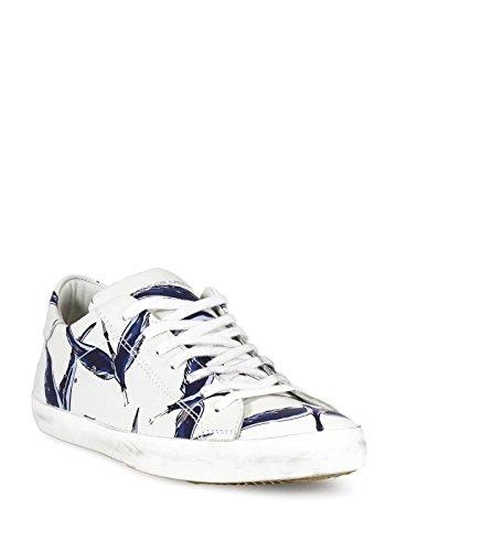 Philippe Model - Botas de senderismo para hombre Bianco Blu 44 Bianco Blu