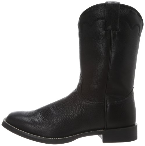 Justin Boots Men S Stampede Collection Roper Boot Wide