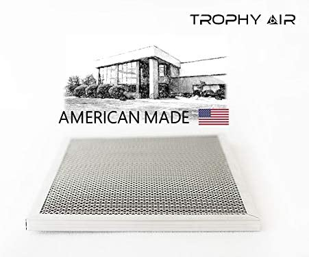 Trophy Air 16x24x1 HVAC Furnace Air Filter Lasts a Lifetime Made in The USA 16x24x1 Healthier Home or Office 6 Stage Micro Allergen Defense Washable