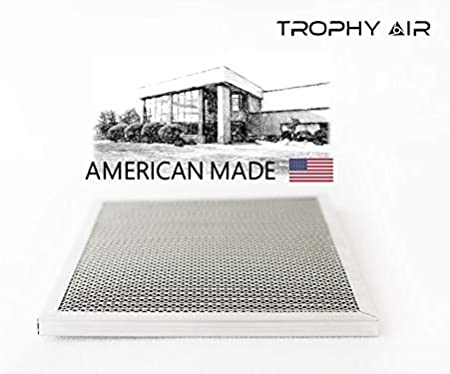 Washable Made in The USA 16x25x1 6 Stage Micro Allergen Defense Healthier Home or Office Trophy Air 16x25x1 HVAC Furnace Air Filter Lasts a Lifetime