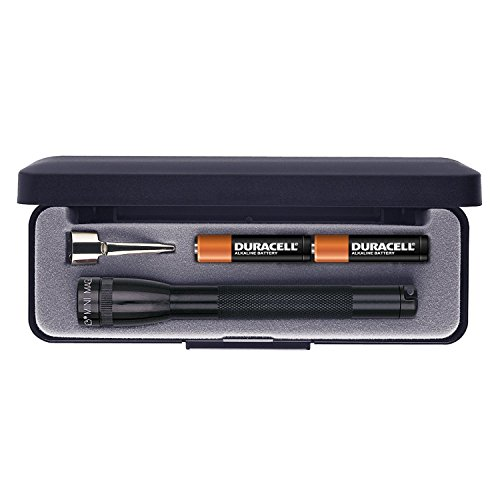 Maglite Mini Incandescent 2-Cell AAA Flashlight in Presentation Box, ()