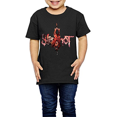 UrsulaA Children's Slipknot Cute Tee for Girls/Boys T-Shirt Black 4 -