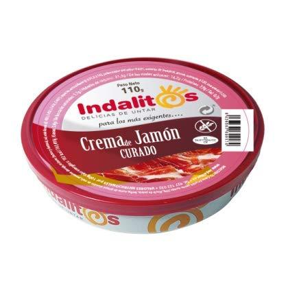 Indalitos – Geborstelde hamcrème – dienblad 5 blikjes 110 g