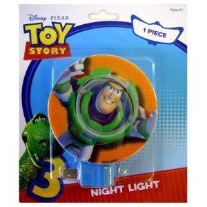 Disney Pixar Toy Story 3 Buzz Lightyear Kids Room Nursery Night (Buzz Lightyear Room Decor)