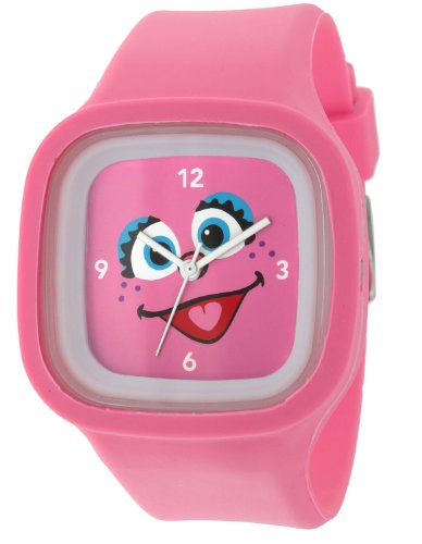 (Sesame Street SW628AB Abby Cadabby Jelly Watch)