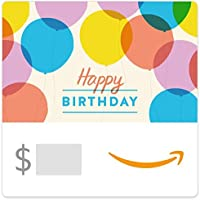 Amazon.com.au eGift Card - Happy Birthday Balloons