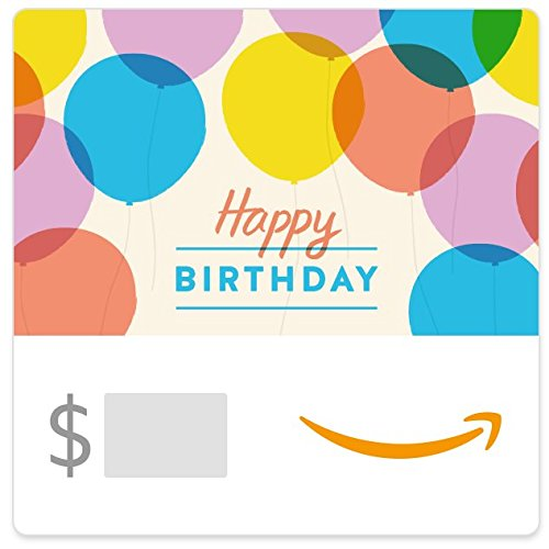Amazon eGift Card - Happy Birthday Balloons (Best Gifts Under 500)