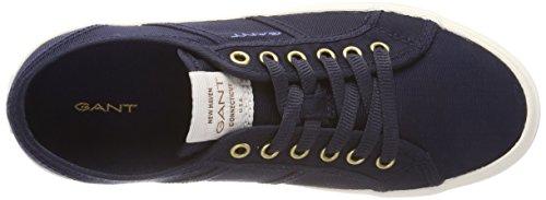 para Gant Mujer Zoe Azul Marino Zapatillas aUEwAqRU
