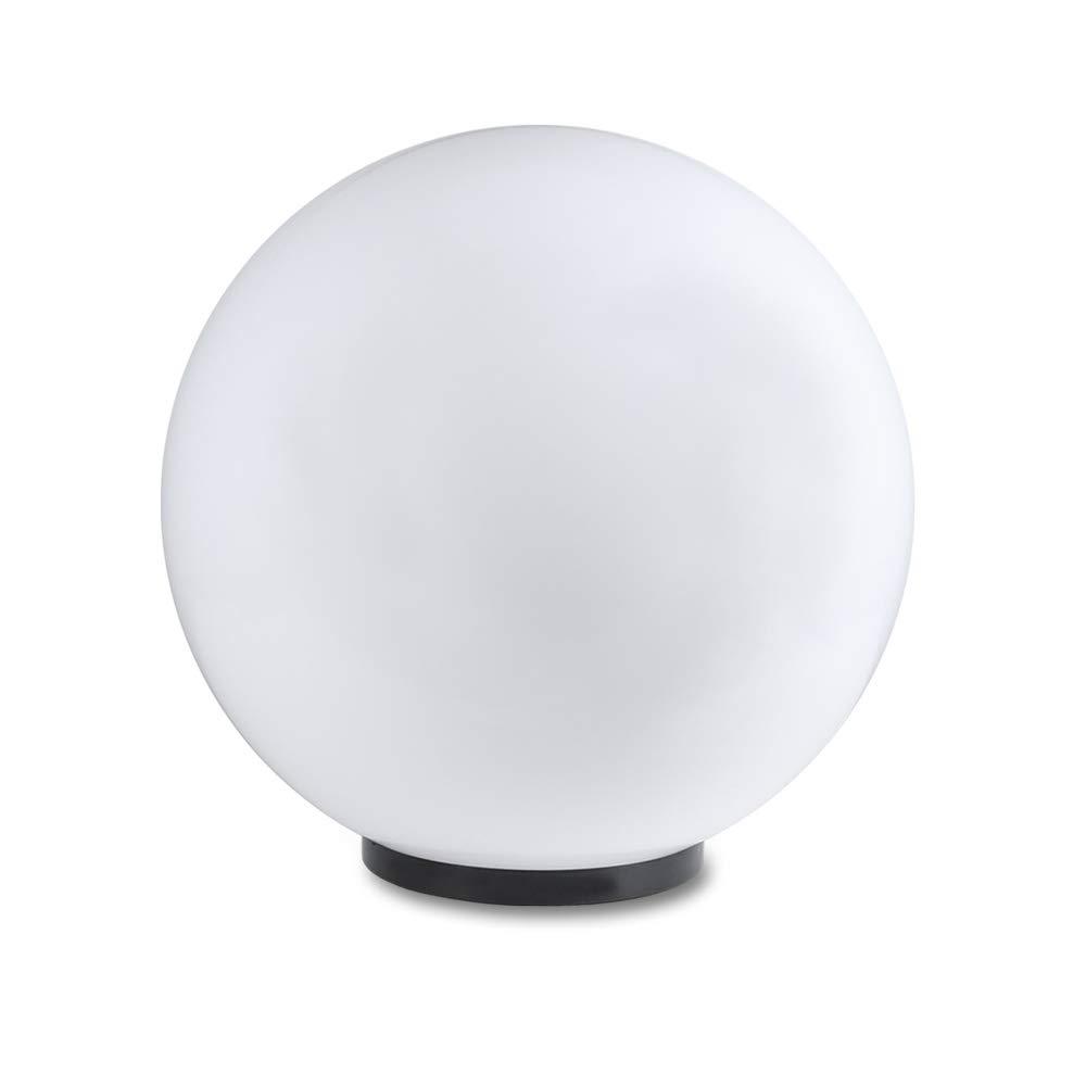 Luce sferica Ø 30cm per Montaggio diretto Lampada rotonda resistente alle intemperie e resistente ai graffi Luci adatto per Lampadine risparmio energetico E27 e LED