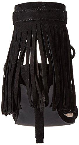 Black Mavin Heel Women's Sana Dress Sol Suede Pump EqYtgF