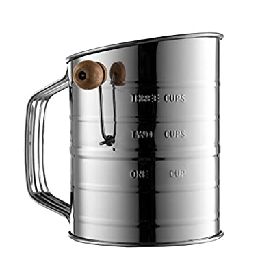 Bellemain Stainless Steel 3 Cup Flour Sifter