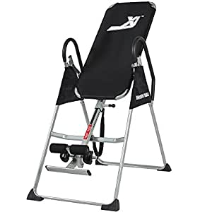 Best Choice Products Inversion Table Pro Deluxe Fitness Chiropractic Table Exercise Back Reflexology
