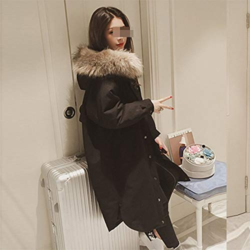 Clothes Manteau Et En Coupe Coton D'automne Longue Noir Pour Femmes 2018 Vêtements vent D'hiver Courtepointes Cols Coton Veste Grands rqOrHxC