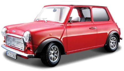 Bburago Mini Cooper 1:32 Scale Diecast Car Model Street Classics (Classic Cooper Mini)