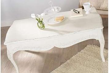 Blanche Table Basse ComtesseCuisineamp; Shabby Maison Nn8vm0w