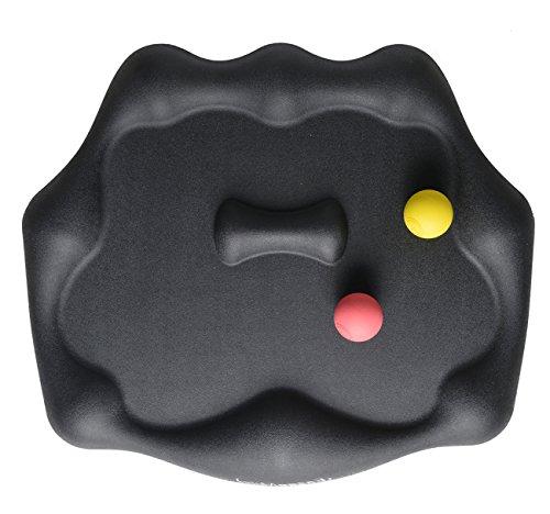 - Eazeemats Standing Desk Pad Not-Flat Anti Fatigue Mat Comfort Mat With 2 Rubber Massage Balls For Height Adjustable Converter Stand Up Desk(28