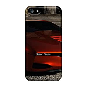 Hard Plastic Iphone 5/5s Cases Back Covers,hot Bmw Red Cases At Perfect Customized