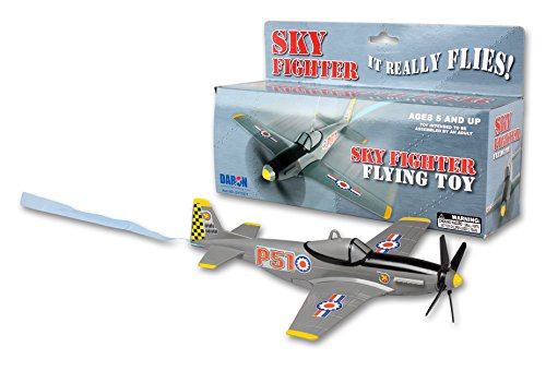 Daron Sky Fighter Flying Toy on a String ()