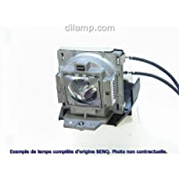 MP777 BenQ Projector Lamp Replacement. Projector Lamp Assembly with Genuine Original Philips UHP Bulb inside.