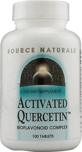 Source Naturals Activated QuercetinT -- 100 Tablets - 3PC