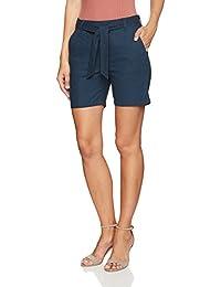 Dockers Short The Linen Pantalones Cortos para Mujer