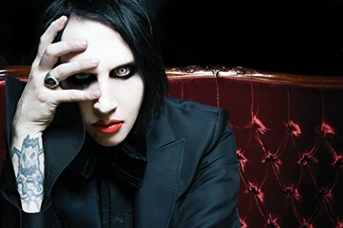 Marilyn Manson Fabric Cloth Rolled Wall Poster Print