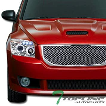 Cromo VIP deporte malla frontal capucha parachoques parrilla rejilla ABS Dodge Caliber: Amazon.es: Coche y moto