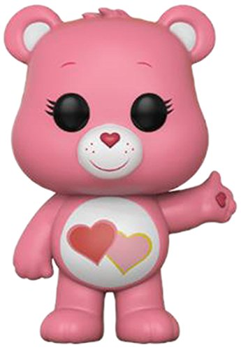 Funko POP! Animation: Care Bears Love-A-Lot Bear Collectible Figure, Multicolor from Funko
