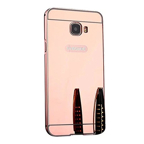 Slim Shockproof Case for Samsung Galaxy On7 (Gold) - 5