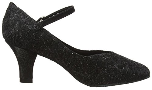 Shoes Dance Black So Ballroom Bl166 Sparkle Black Women's Danca nXxgvXH