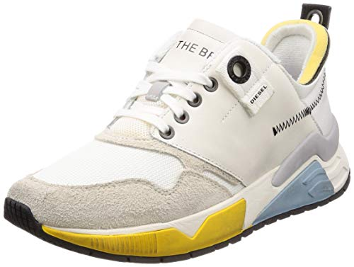Diesel Men's S-BRENTHA LC-Sneakers, Star White, 11 M US